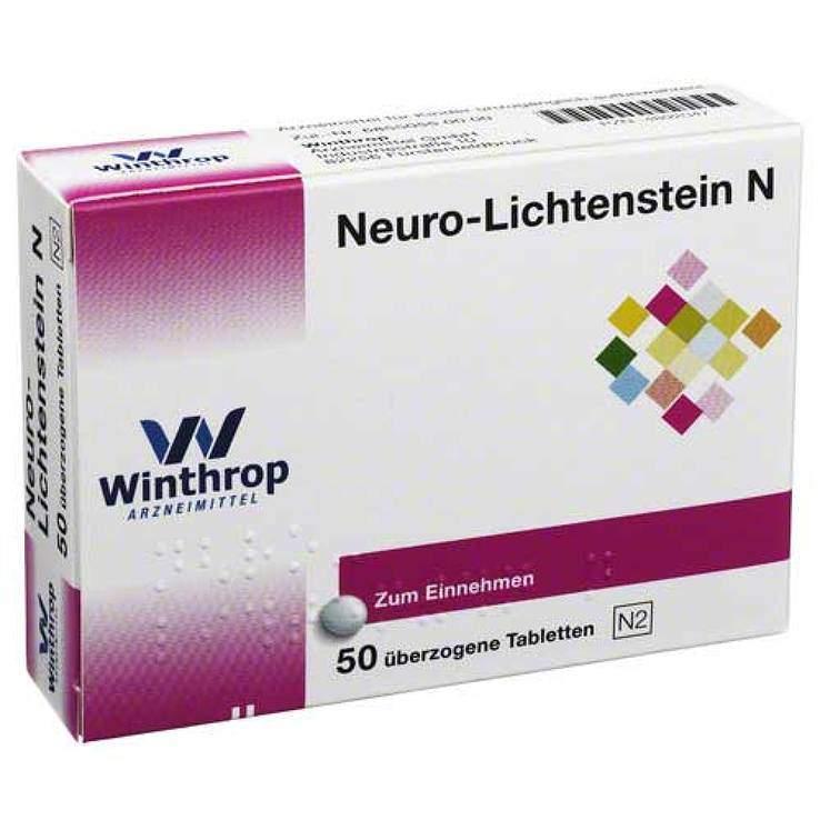 Neuro-Lichtenstein N 100mg/100mg, 50 überz.Tbl.