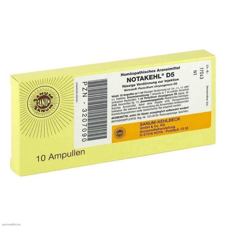 Notakehl D5 Amp. 10x1ml