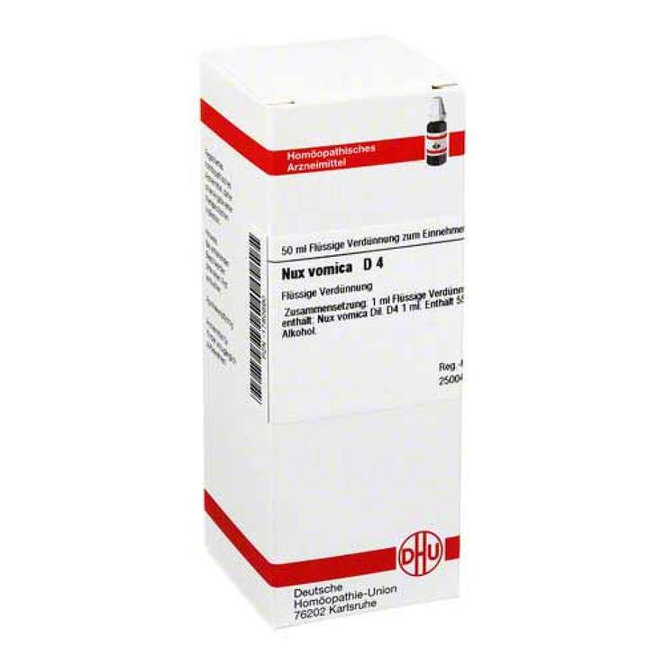 Nux vomica D4 DHU Dil. 50 ml