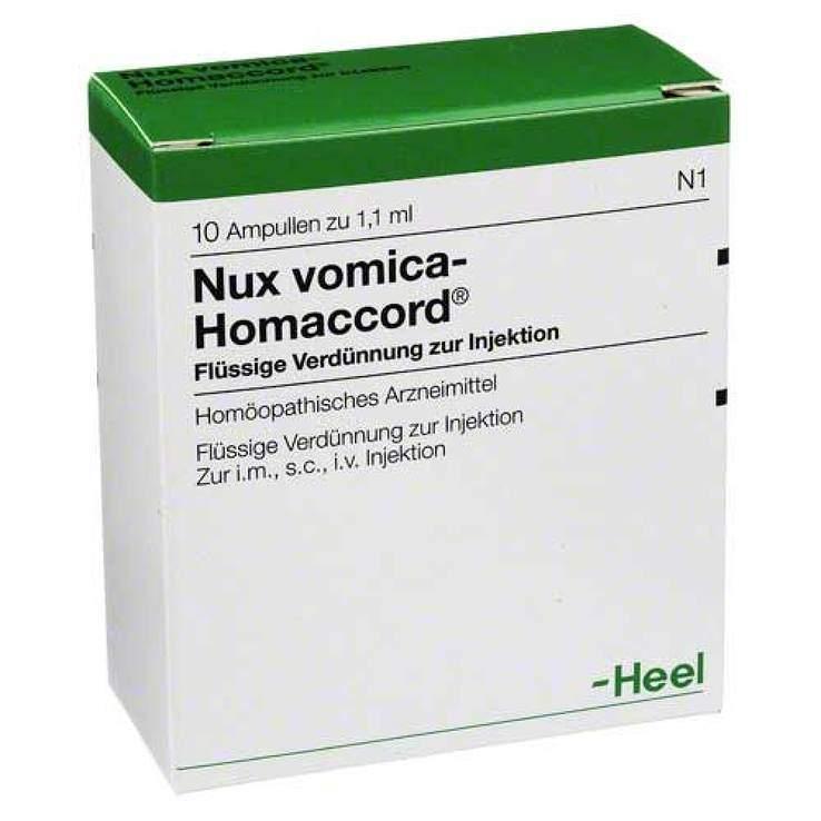 Nux vomica-Homaccord® 10 Amp. Inj.-Lsg.