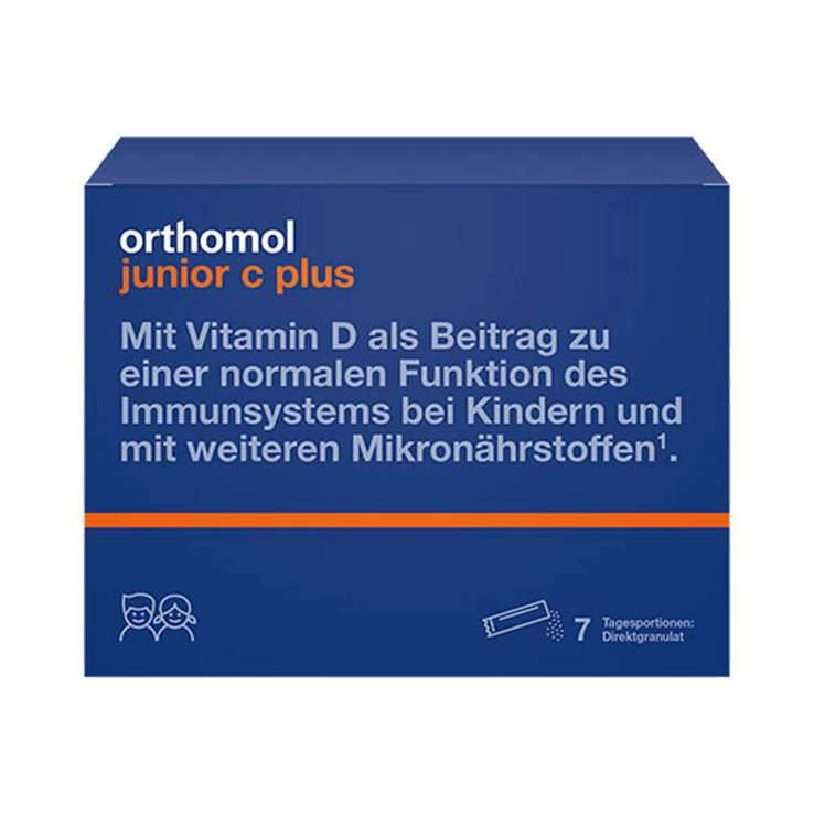 Orthomol junior C plus 7 Btl.