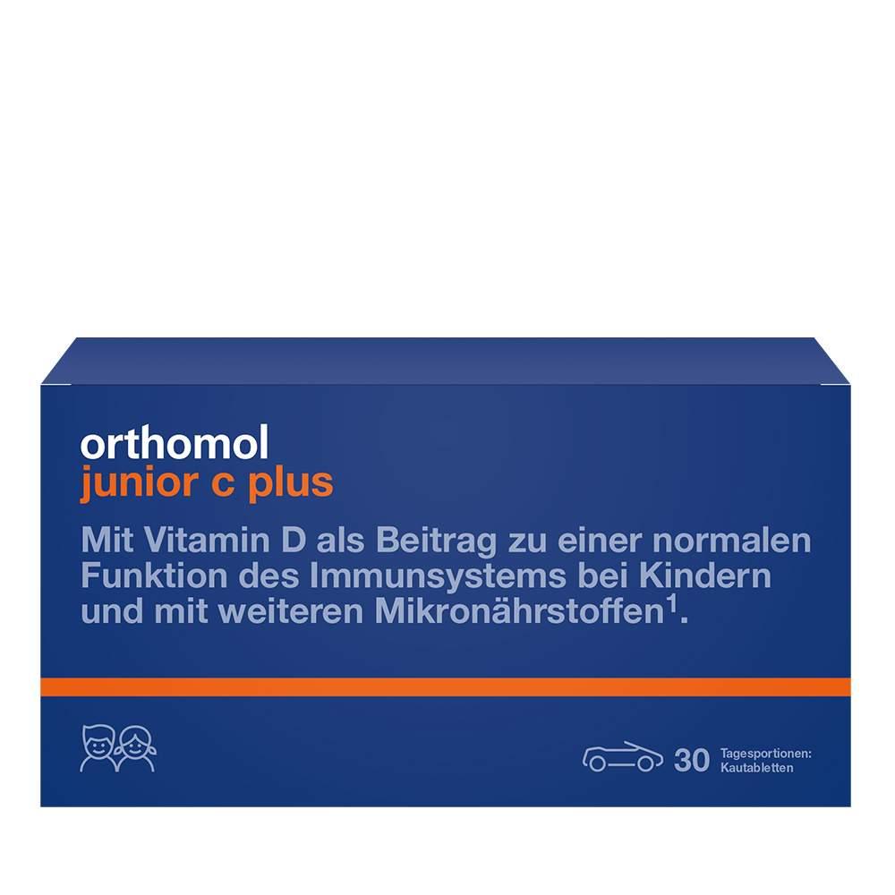 Orthomol junior C plus Waldfrucht 30 Kautbl.