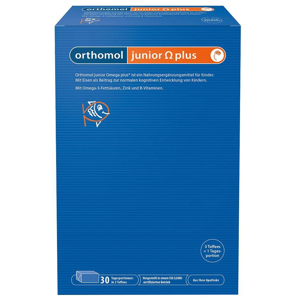 Orthomol junior Omega plus 90 Toffees