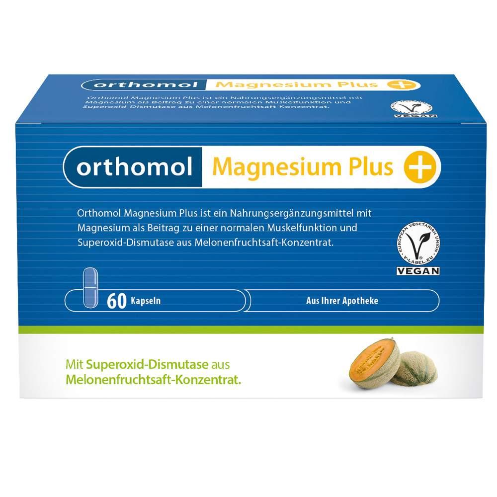 Orthomol Magnesium Plus 60 Kaps.