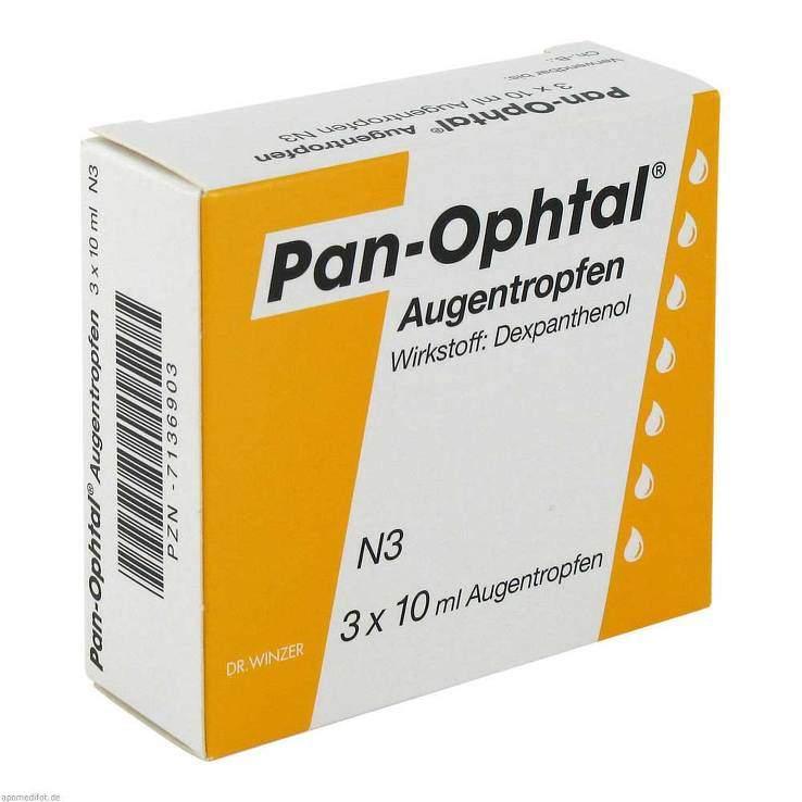 Pan-Ophtal® Augentropfen 3x 10ml