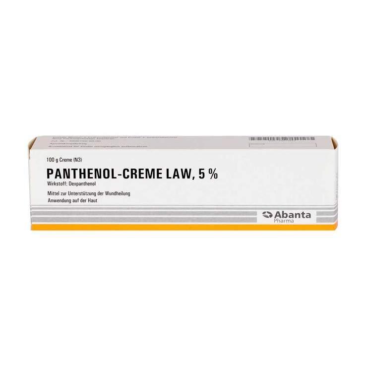 Panthenol-Creme LAW 5 % 100g