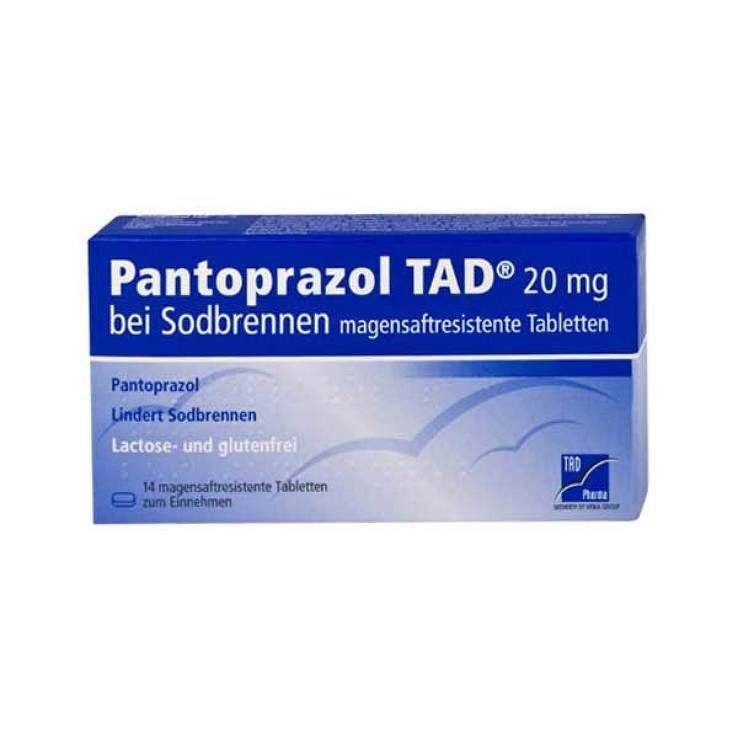 Pantoprazol TAD® 20mg b.Sodbrennen 14 msr. Tbl.