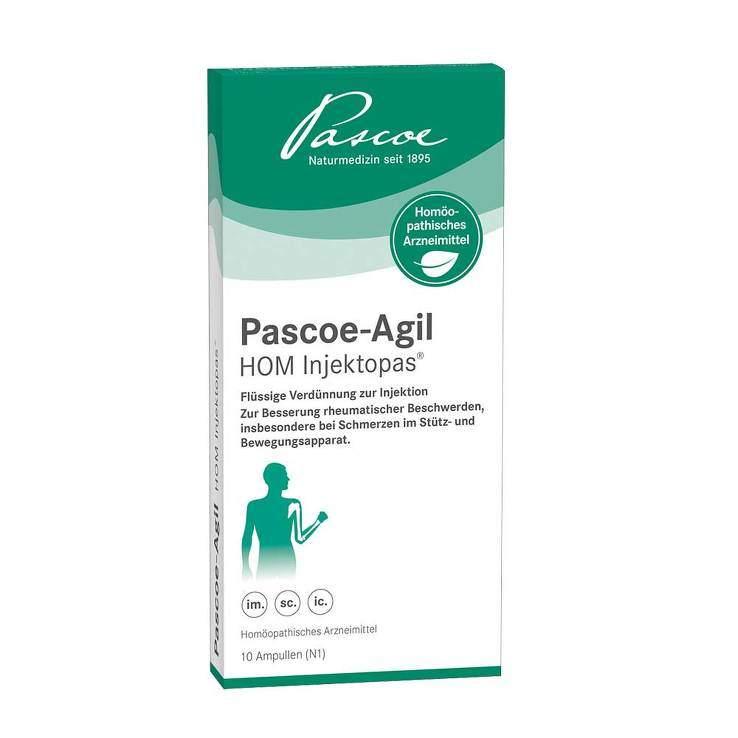 Pascoe-Agil HOM Injektopas® 10x2ml Amp.