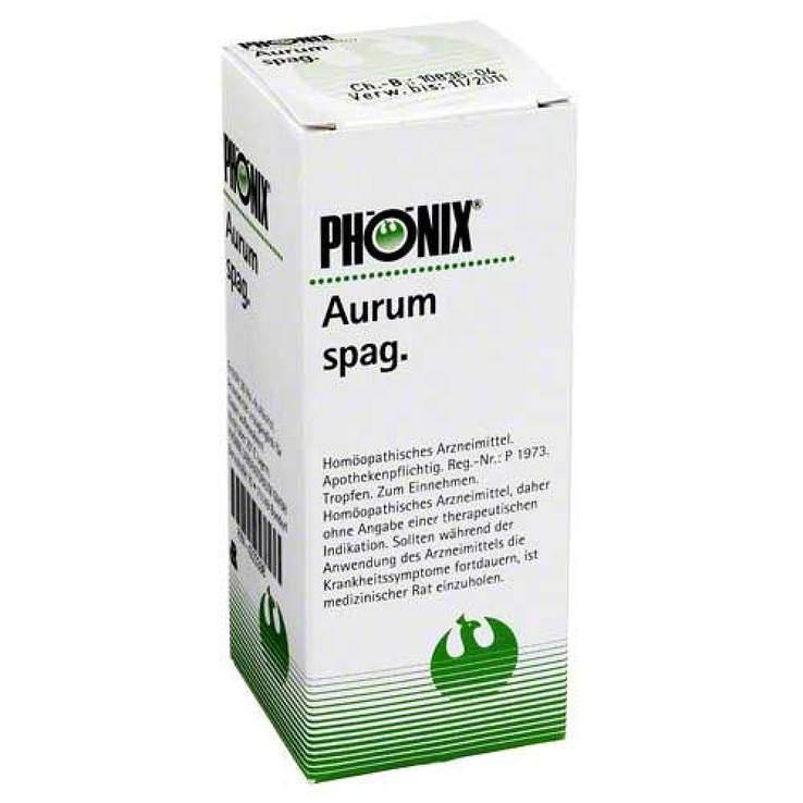Phönix aurum spag. Tropfen 100ml