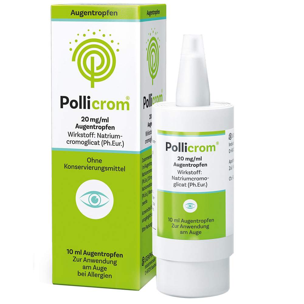 Pollicrom® 20 mg/ml Augentropfen 10ml