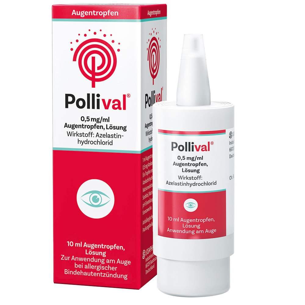 Pollival® 0,5 mg/ml Augentropfen 10ml