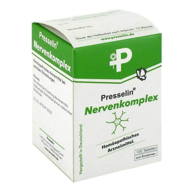 Presselin Nervenkomplex 100 Tbl.
