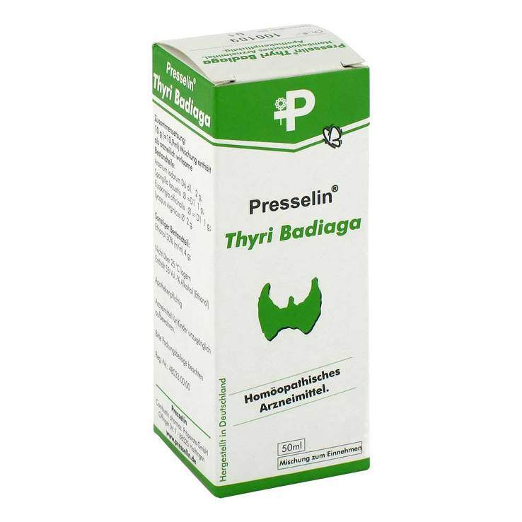 Presselin Thyri Badiaga Tropfen 50 ml