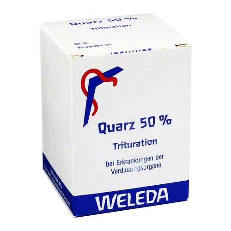 Quarz 50% Weleda Trit. 50g