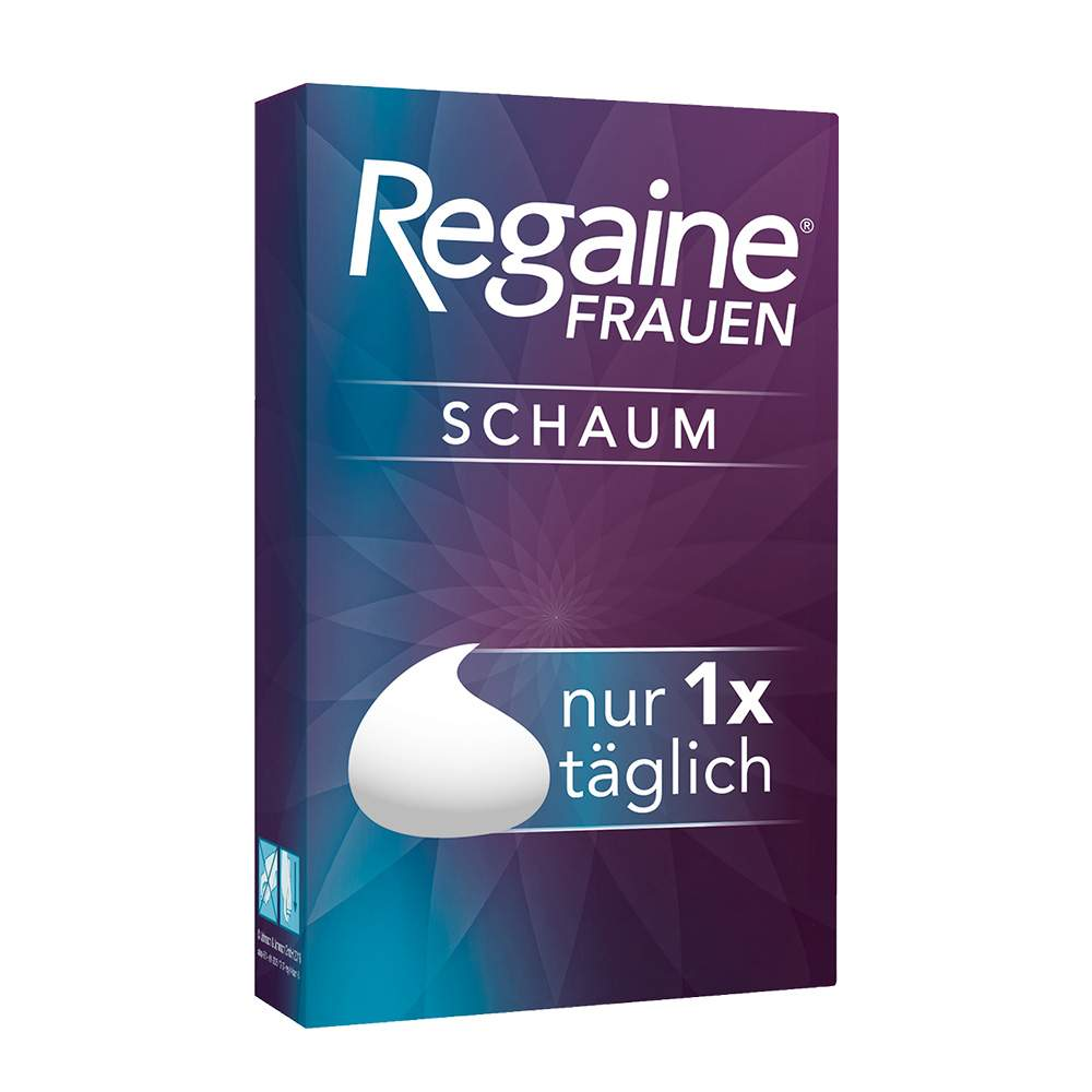 Regaine® Frauen Schaum 50 mg/g 2x60g