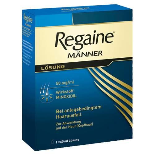 Regaine® Männer, 50 mg/ml Lösung zur Anwendung auf der Haut (Kopfhaut) 1 Fl. 60ml