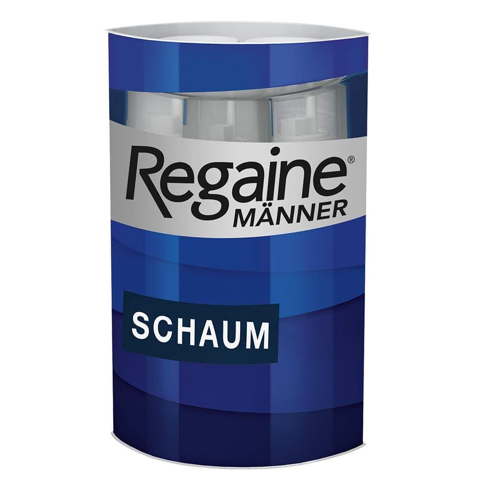 Regaine® Männer Schaum, 50 mg/g 3x 60ml Schaum z. Anw. auf d. Haut