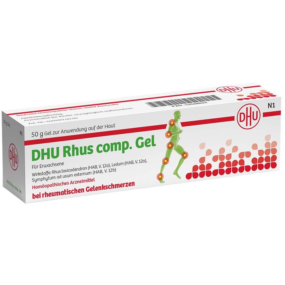 Rhus comp. Gel DHU 100 g
