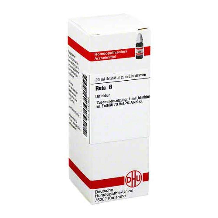 Ruta Urtinktur DHU Dil. 20 ml
