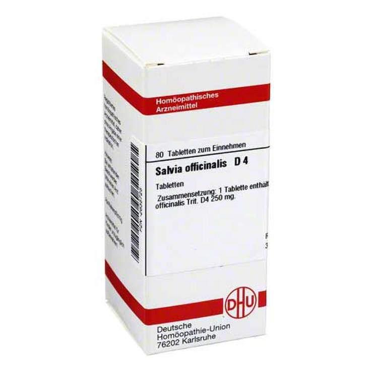 Salvia officinalis D4 DHU 80 Tbl.