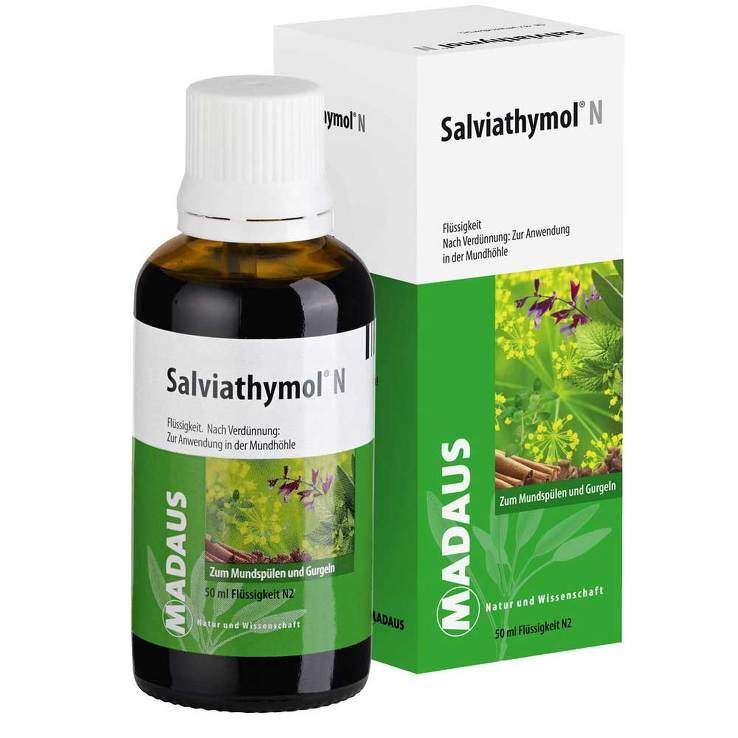 Salviathymol® N Madaus, Flüssigkeit 50ml