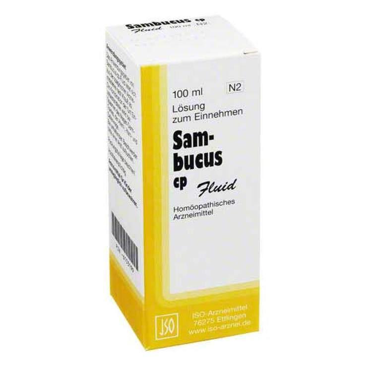 Sambucus cp-Fluid 100ml