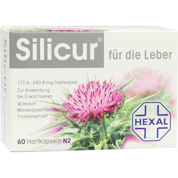 Silicur® für die Leber 60 Hartkaps.