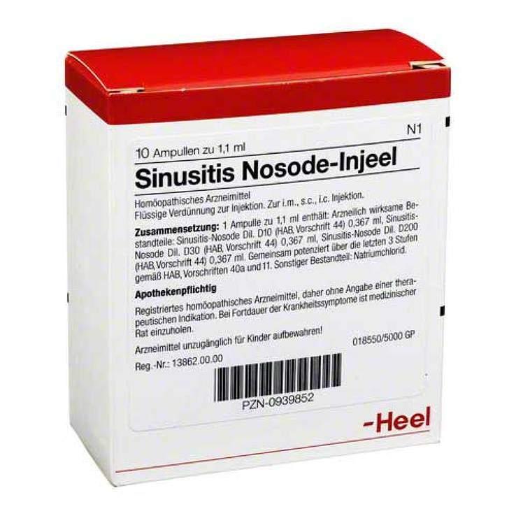 Sinusitis-Nosode-Injeel 10 Amp. Inj.-Lsg.