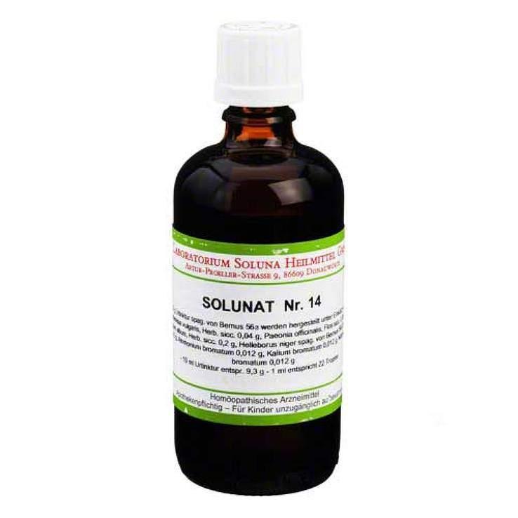 Solunat Nr. 14 Tropfen 100 ml