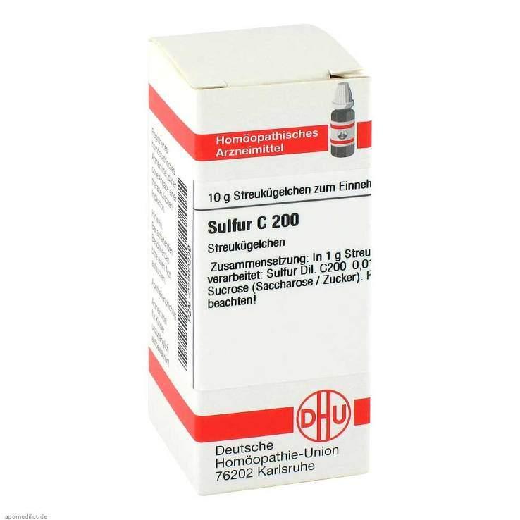 Sulfur C200 DHU Glob. 10 g