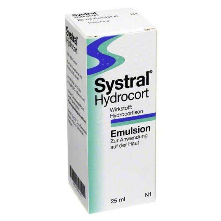 Systral® Hydrocort 0,25 % Emulsion 25 ml