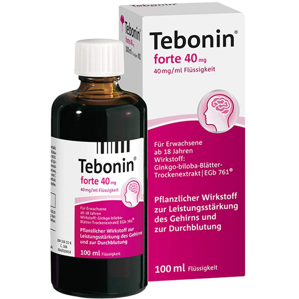 Tebonin® forte 40mg 100ml Lsg.