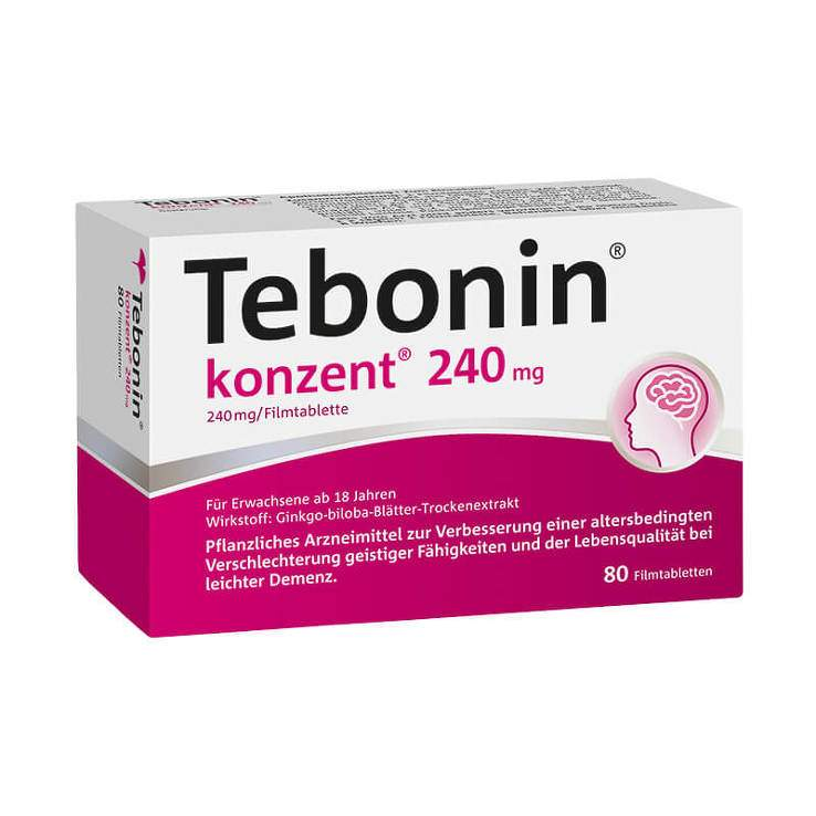 Tebonin® konzent® 240mg 80 Filmtbl.