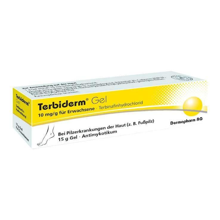 Terbiderm® Gel, 10 mg/g für Erwachsene 15g