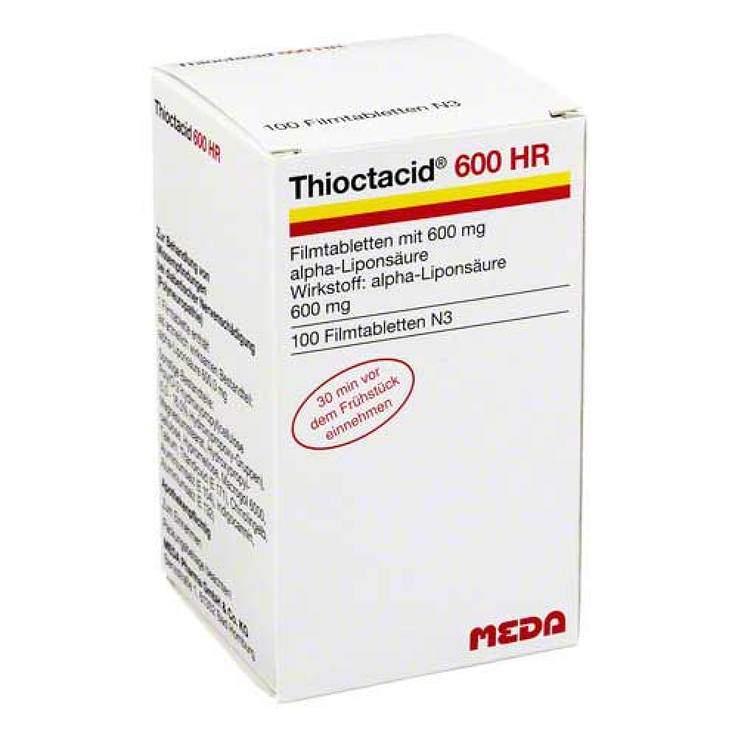 Thioctacid® 600 HR 100 Filmtbl.