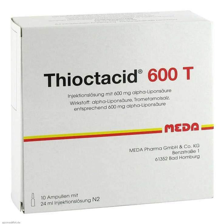 Thioctacid® 600 T 24ml 10 Amp.
