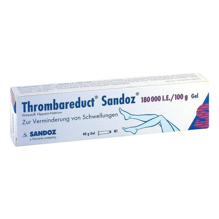 Thrombareduct® Sandoz® 180.000 I.E. 40g Gel