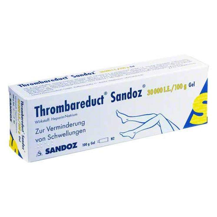 Thrombareduct® Sandoz® 30.000 I.E. 100g Gel