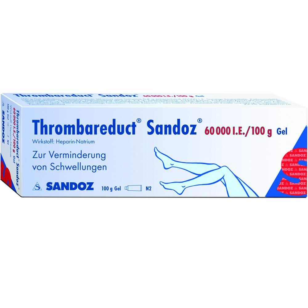 Thrombareduct® Sandoz® 60.000 I.E. 100g Gel