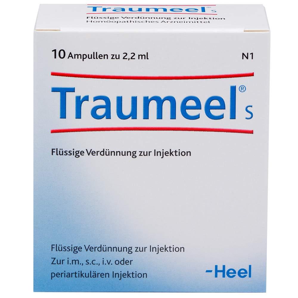 Traumeel® S 10 Amp. Flüssige Verdünnung z. Inj.