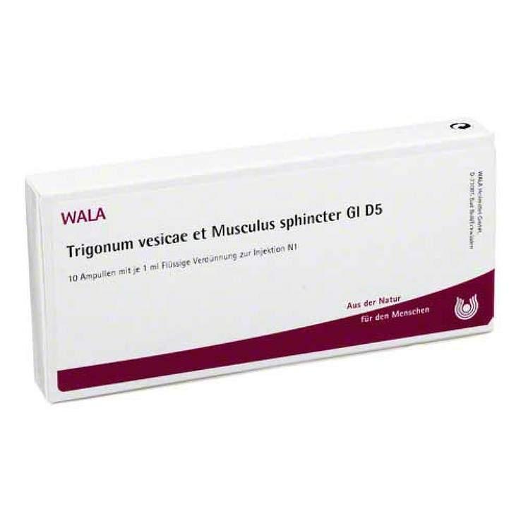 Trigonum Vesic. et musc. sph. Gl D5 Wala Amp. 10X1 ml