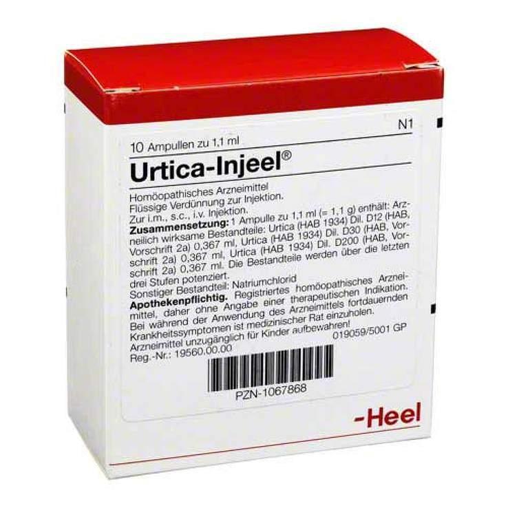 Urtica Injeel 10 Amp.