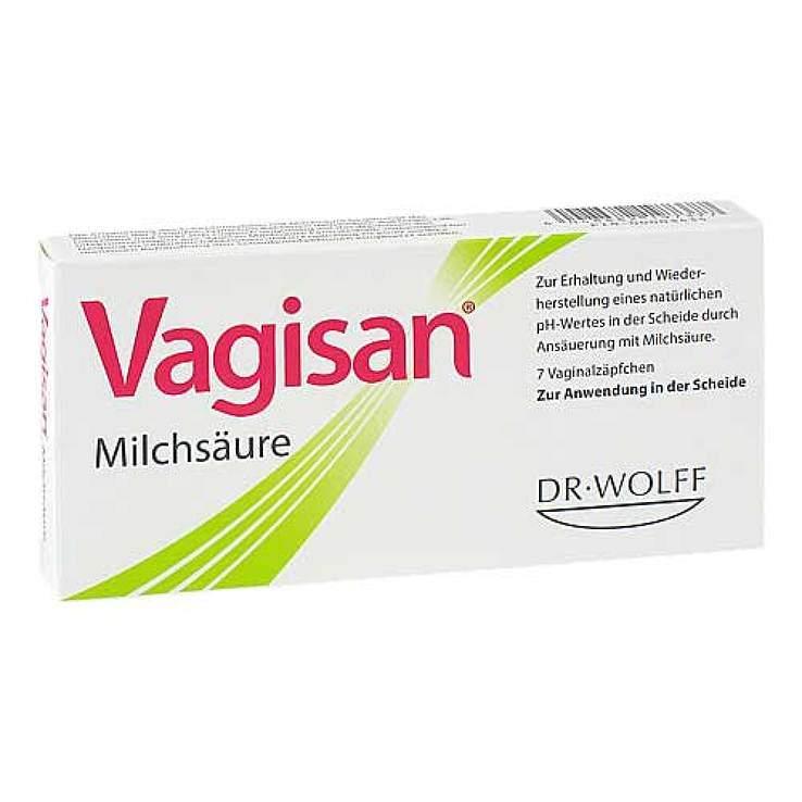 Vagisan® Milchsäure 7 Vaginalzäpf.