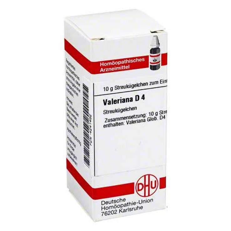 Valeriana D4 DHU 10g Glob.