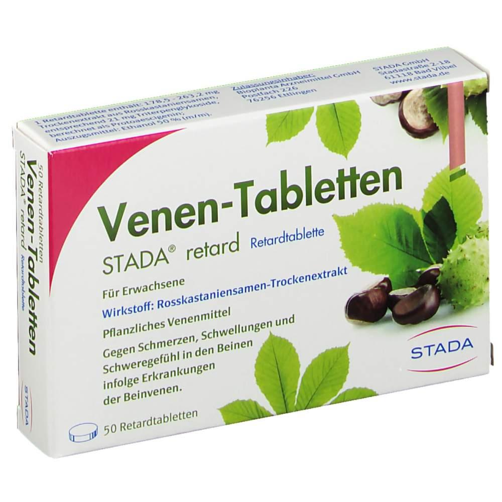 Venen-Tabletten STADA® retard 50 Ret.-Tbl.