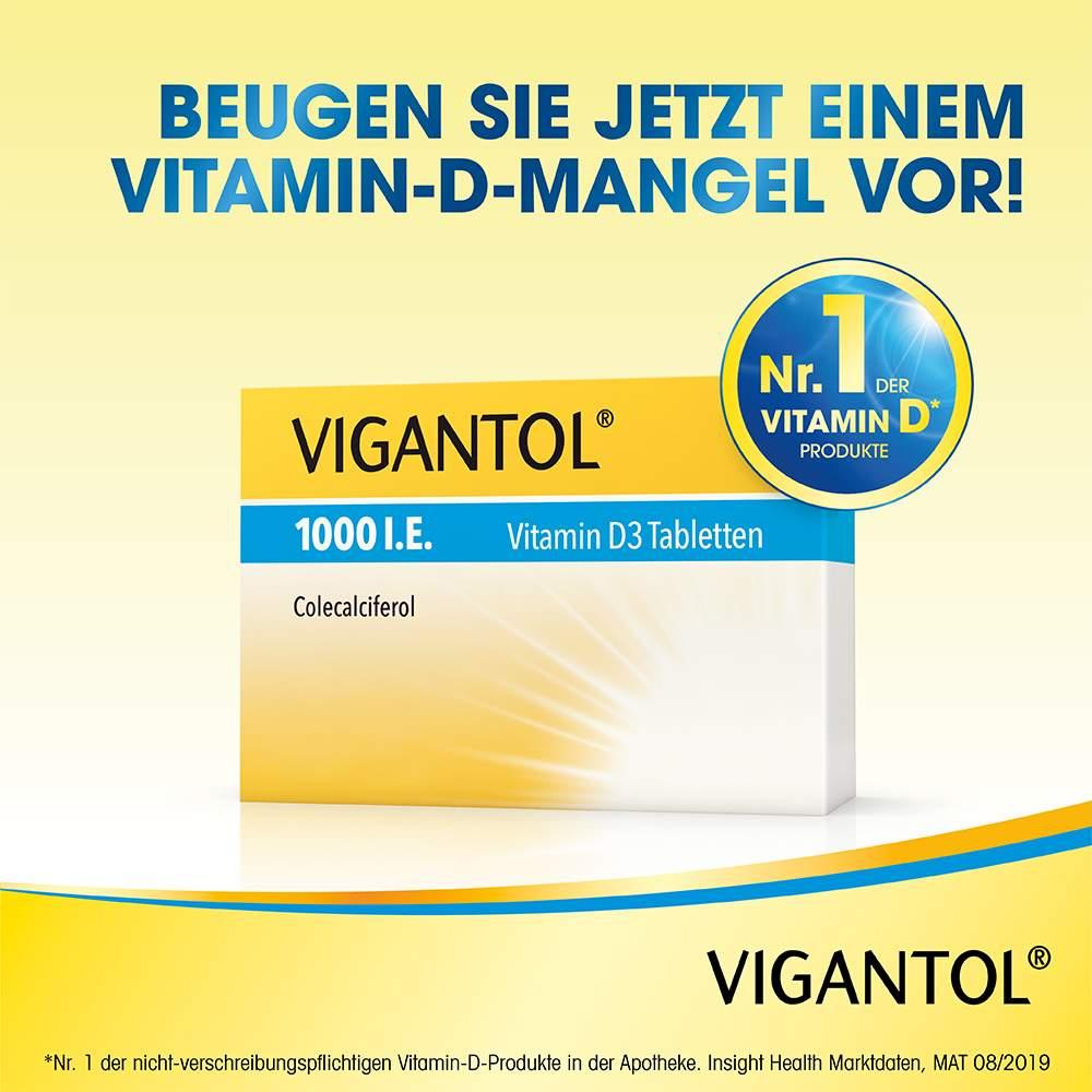 VIGANTOL® 1000 I.E. Vitamin D3 100 Tbl.