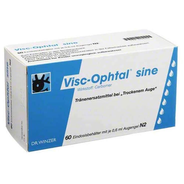 Visc-Ophtal® sine Augengel 60x0,6ml