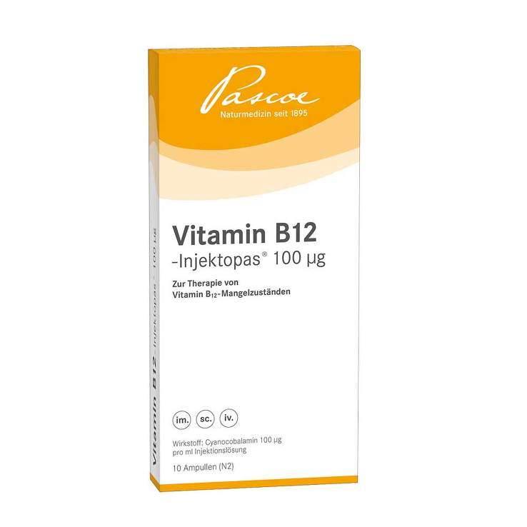 Vitamin B12-Injektopas® 100µg 10x1ml Amp.