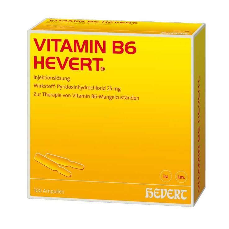 Vitamin B6-Hevert 100 Amp.