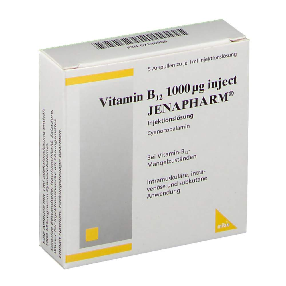 VitaminB12 1000µg inj.JENAPHARM® 5Amp.1ml